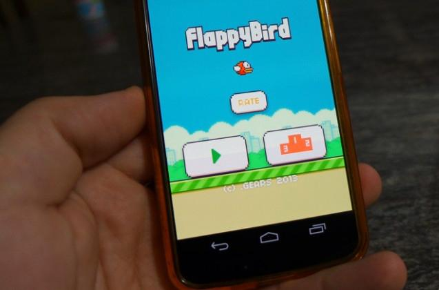 Flappy+Bird+provides+challenging+entertainment