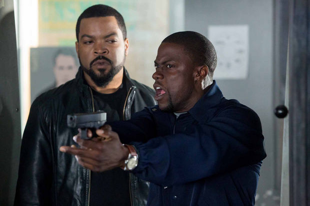Kevin+Hart+tries+to+impress+his+future+brother-in-law%2C+Ice+Cube%2C+in+Ride+Along.