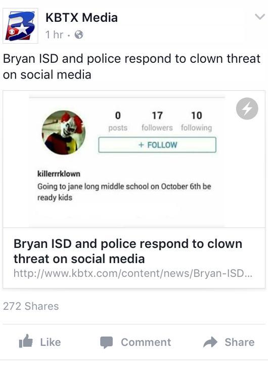 Clowns+create+havoc