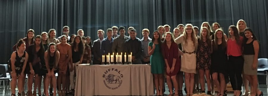 New+members+inducted+into+NHS