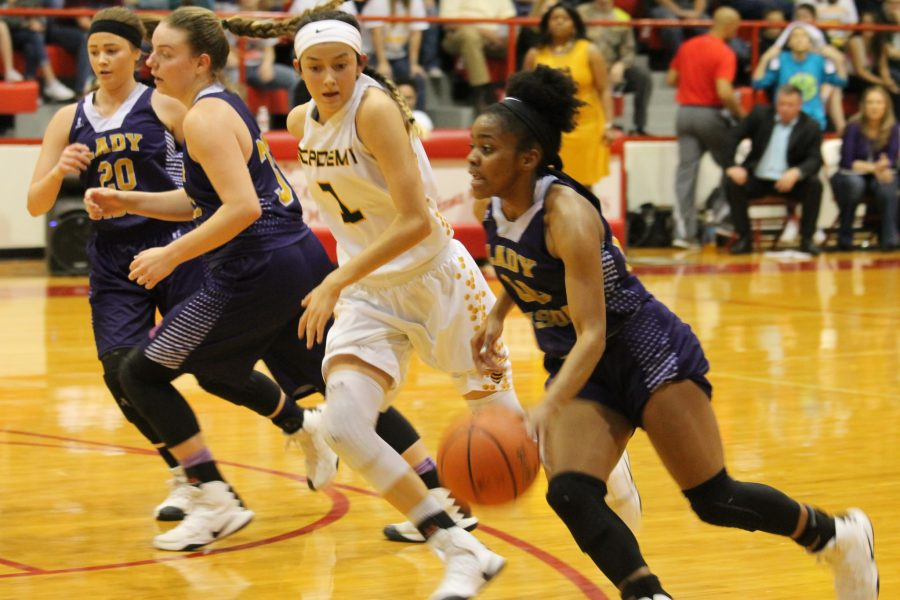 Lady Bison basketball advances to regional competition