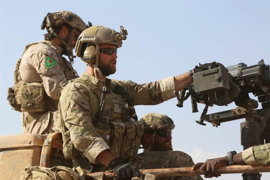 U.S troops arrive in Syria