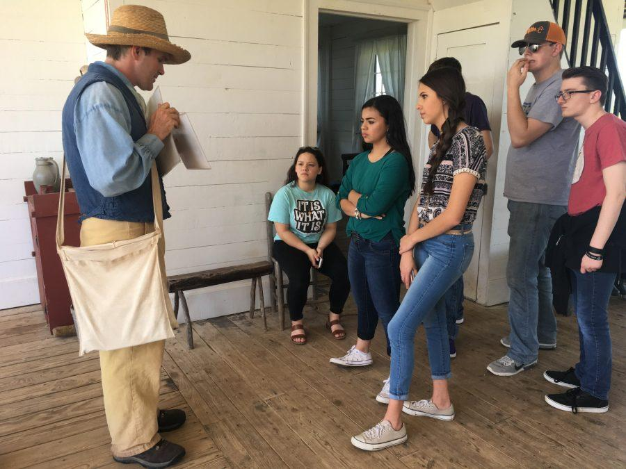 Students take a trip back into history