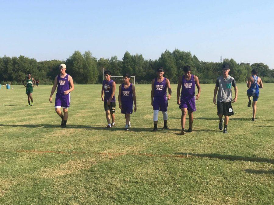 Cross Country runners hit first meet