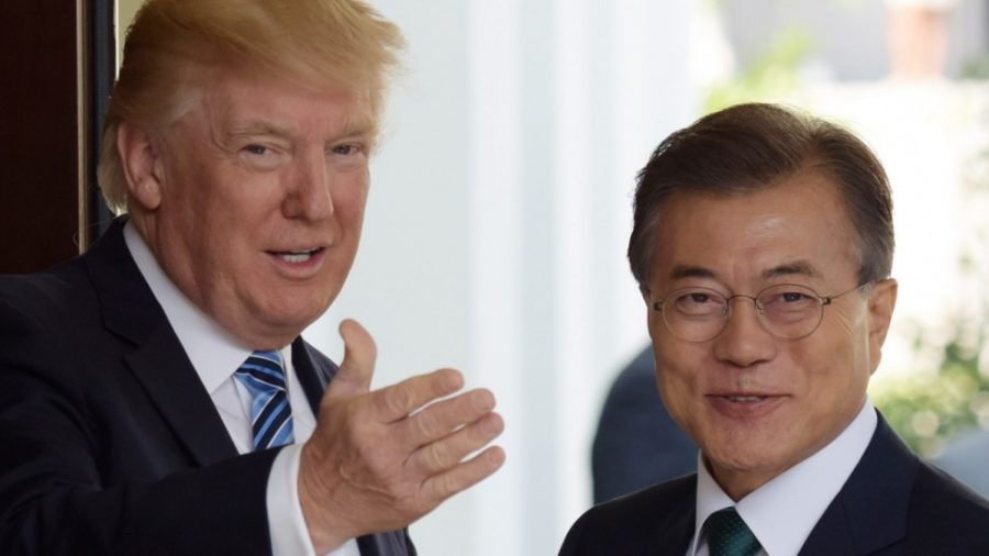 Trump+and+Moon+Jae-in+come+to+compromise