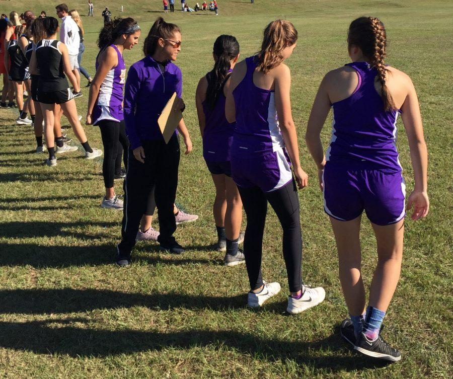 Cross-Country runners compete in district