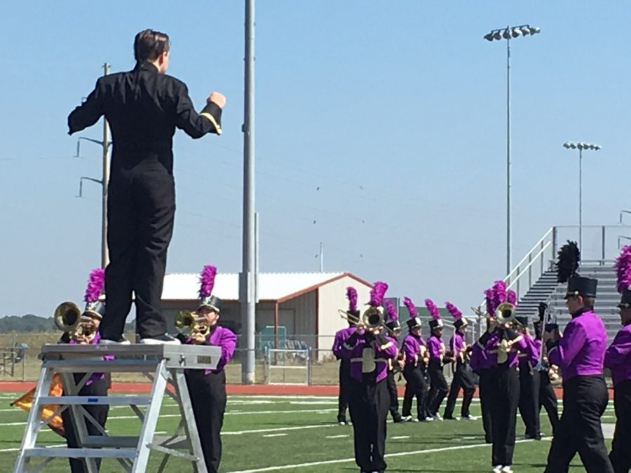 Bison+Brigade+prepares+for+UIL+competition