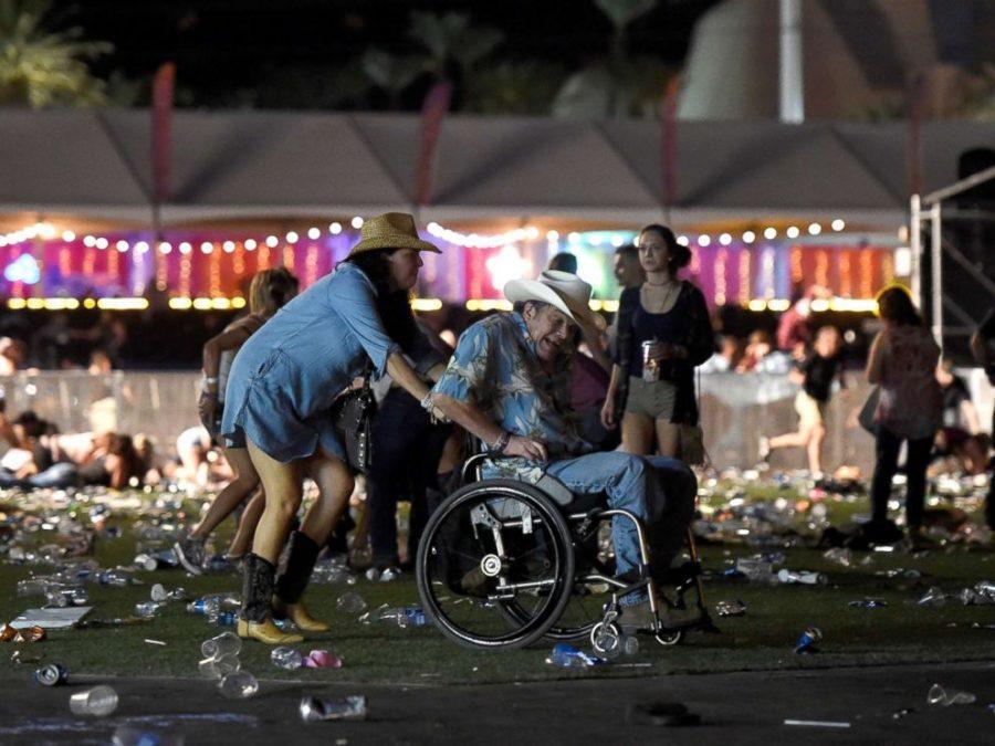 Shooter terrorizes Vegaz concert crowd