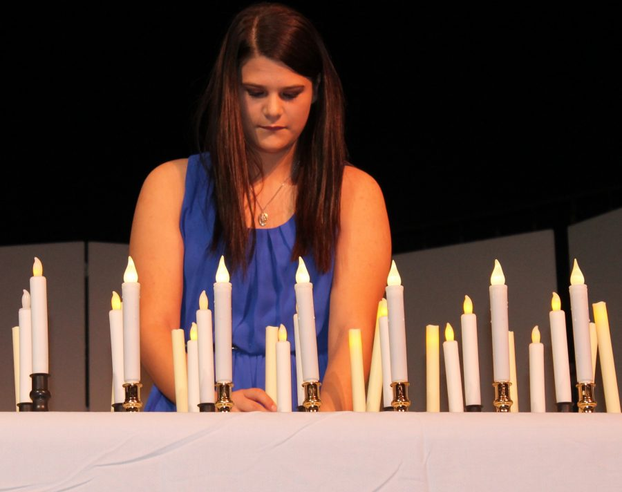 New NHS students inducted