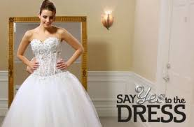 I'm saying yes to the dress
