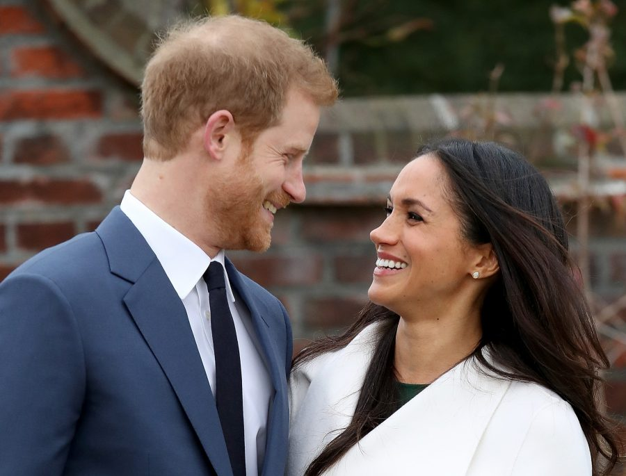Actress Meghan Markle and Prince Harry engaged