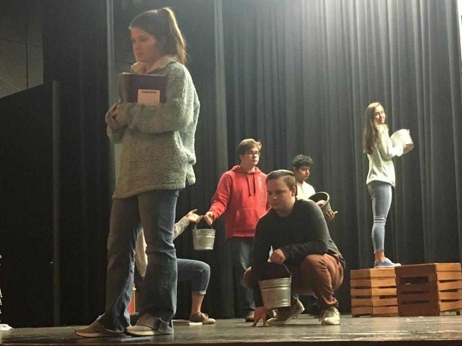 OAP students prepare for district competition