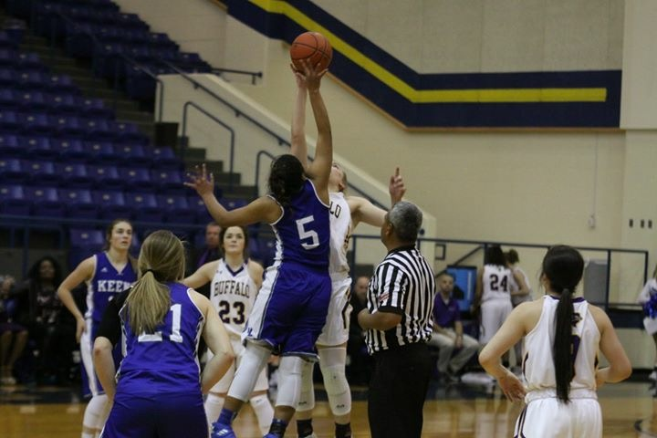 Lady Bison bow out at bi-district