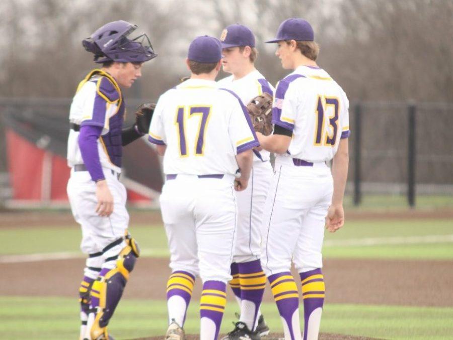 Baseball team starts scrimmage season