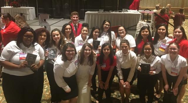 FCCLA places at regional meet
