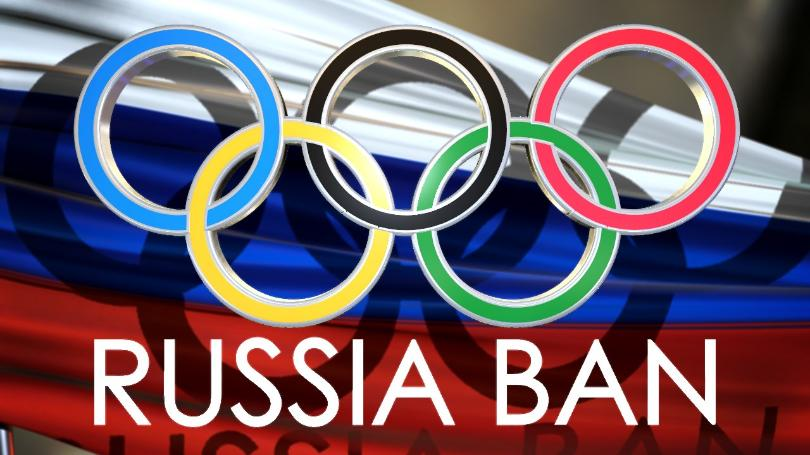 Russians compete in Olympics despite ban