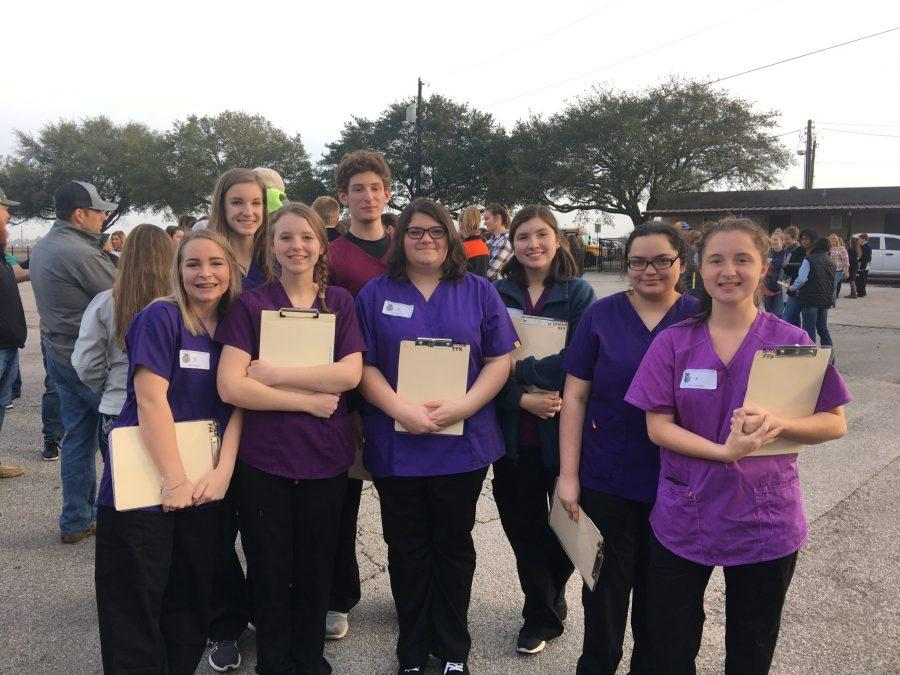 Veterinary Science Team working towards state