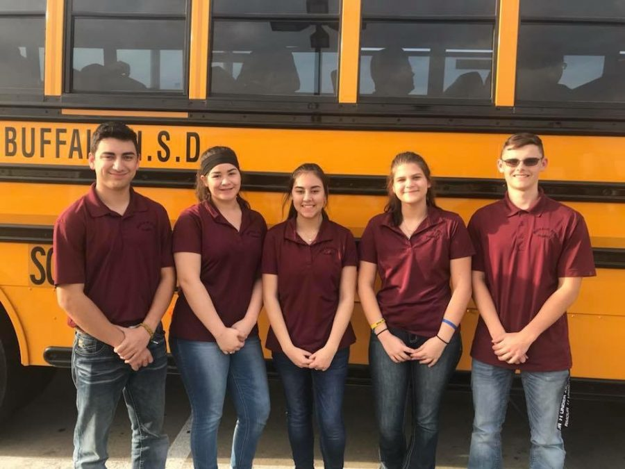 FFA Poultry Team Competes