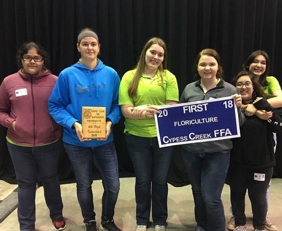 FFA places in top five at Cypress