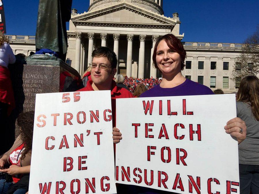Teachers strike in West Virginia