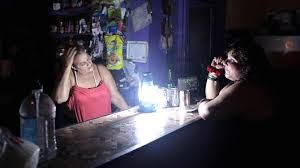 Puerto Rico hit with blackouts