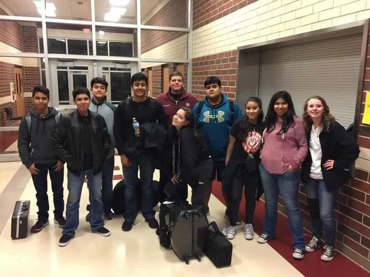 Brigade students earn honor band spots