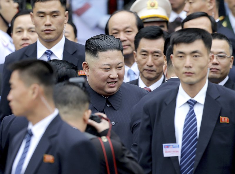 Kim+Jong+Un+arrives+in+Vietnam