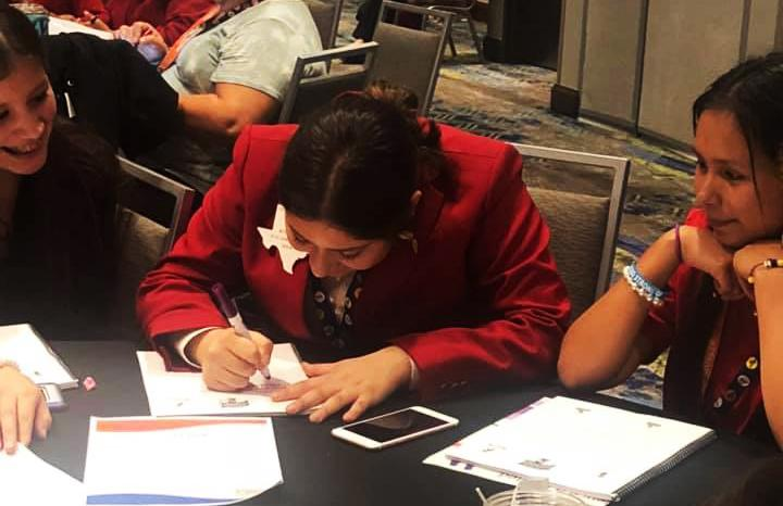 FCCLA officers attend peer training event
