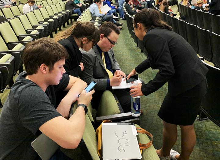 Students compete at UIL State Congressional Debate