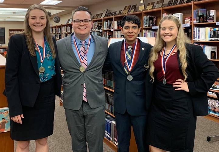 Debate advances two teams to state