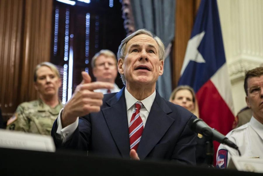 Governor+Abbott+places+new+restrictions+on+businesses%2C+schools