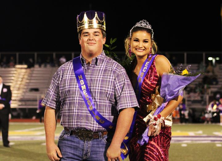 Henson, Parker crowned during Homecoming