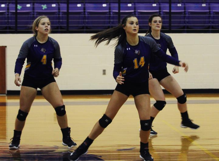 Lady Bison begin district play