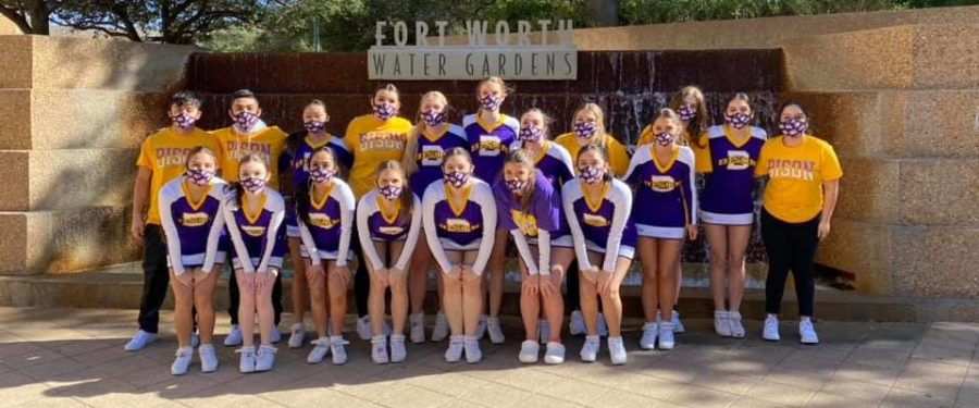 Cheer team travels to state competition in Ft. Worth