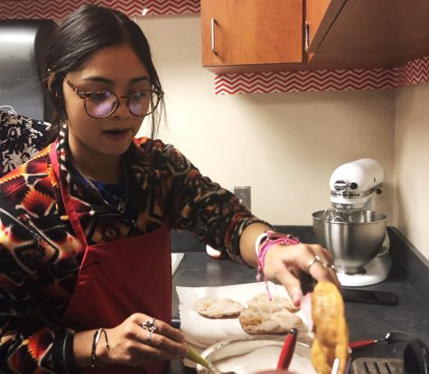 FCS students helped to create a number of Hispanic dishes to share with those attending Hispanic Heritage night.