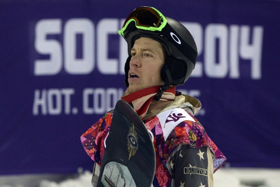 Shaun+White+watches+for+his+score+after+his+last+Halfpipe+run+earlier+this+week.+He+did+not+make+the+podium+stand.