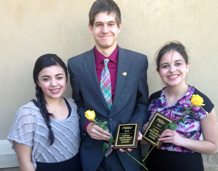 Nadia Garcia, Evan Grisham and Kendall Morales all made finals in Congress. Grisham is national alternate in the event, and he and Morales also qualified for nationals in CX.