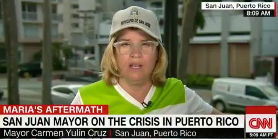 Trump slams San Juan mayor on Twitter