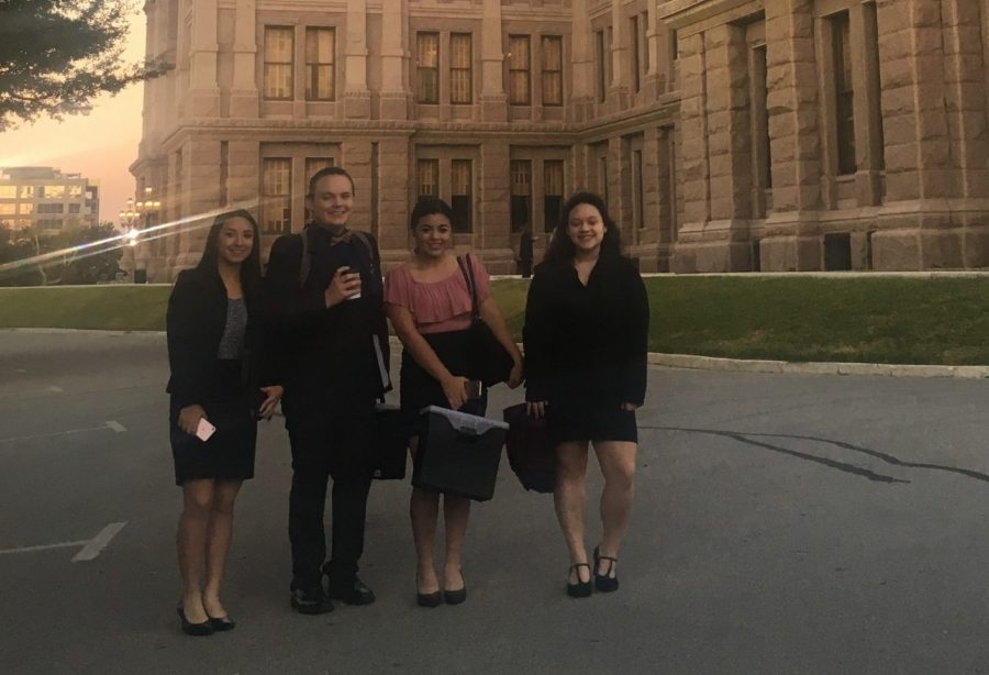 Congress students compete at Capitol