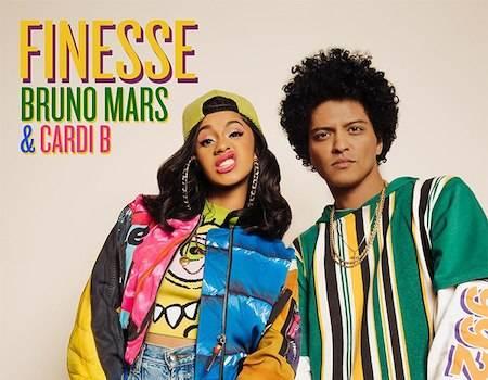 Cardi B and Bruno Mars Kick it Old School