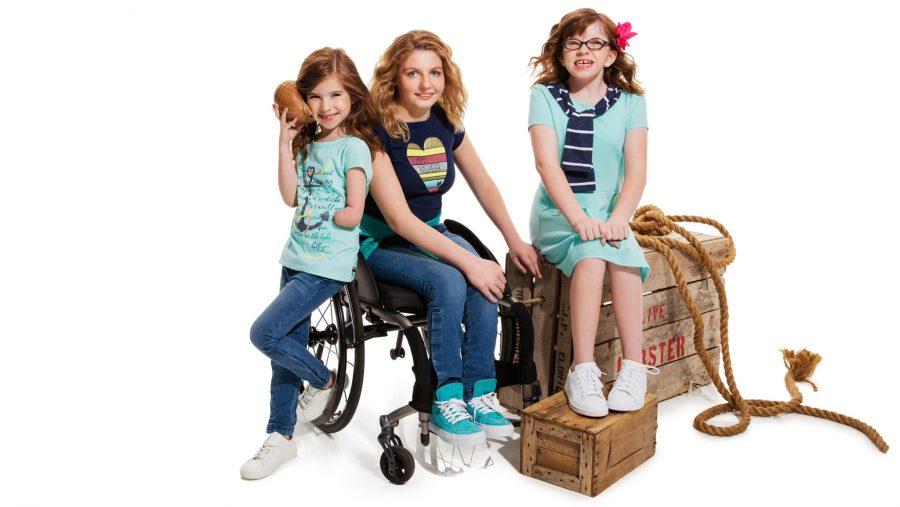 Tommy Hilfiger line for disabled kids