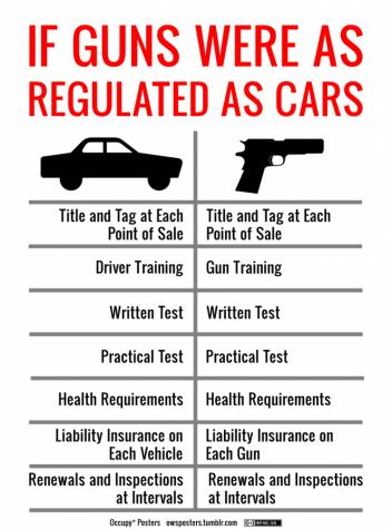 Sensible gun control needed