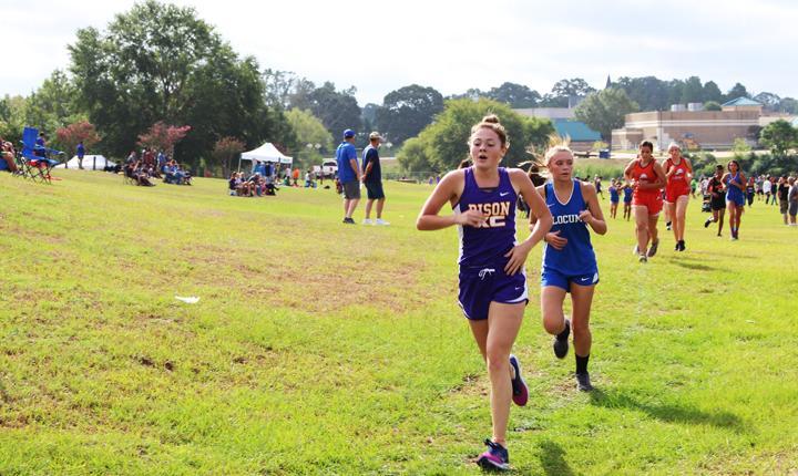 Bates advances to XC regionals
