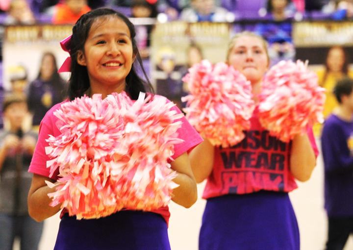 Lights out at Pink Out