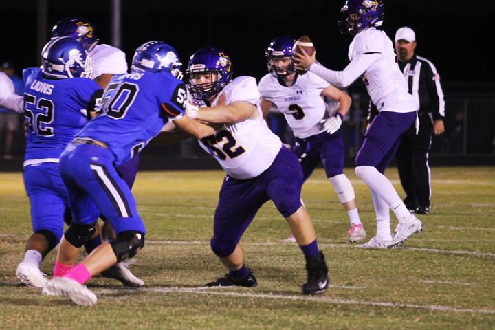 Bison dominate Blooming Grove