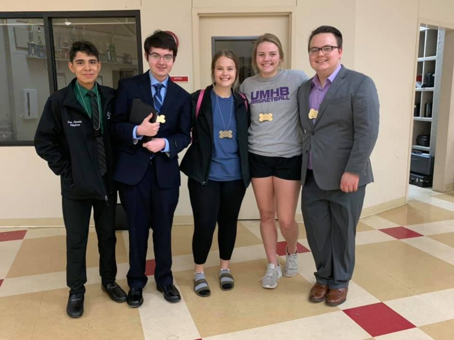 Speech students compete at Colmesneil