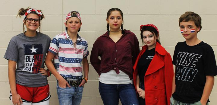 Dress-up days liven up homecoming week