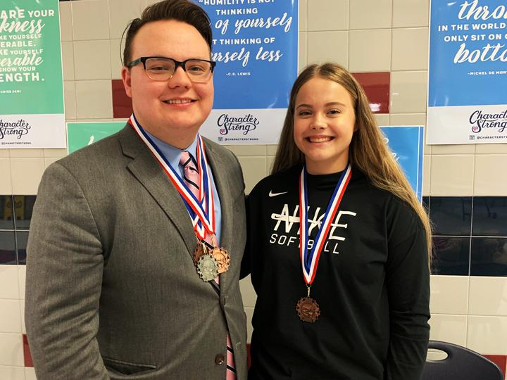 Speech students compete in Waco