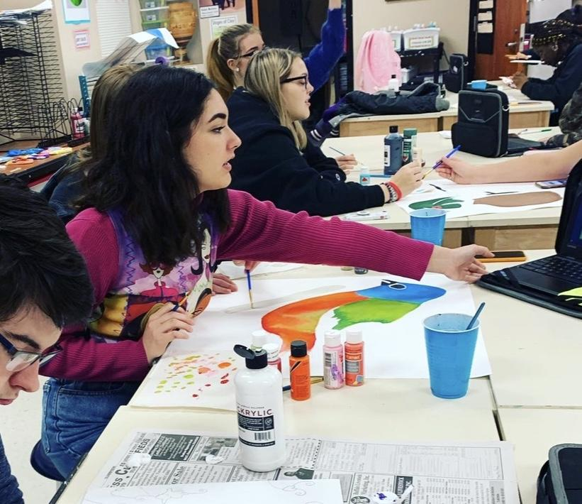 Students create Big Thicket entries