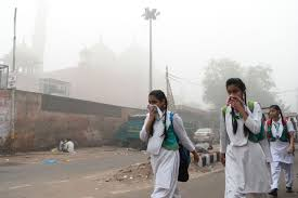 New Delhi fights smog problem